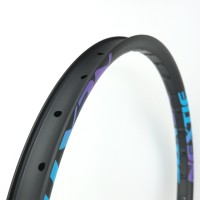 [NXT27CD42] [Crocodile] 42mm Width Carbon Semi-Fat Plus MTB 27.5+ Rim [Tubeless Compatible]