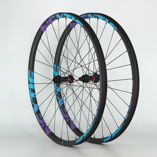 Build Your Own Carbon Fiber Mountain Bike Complete Wheelset Front & Rear