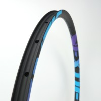 "[NXT27XC30] 30mm Width Carbon Fiber 27.5"" Mountain Bike Clincher Rim Tubeless Compatible"