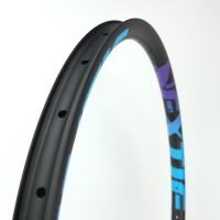 "[NXT29SA33] PREMIUM Asymmetric 33mm Width Carbon Fiber 29"" Mountain Bike Clincher Rim [Tubeless Compatible]"