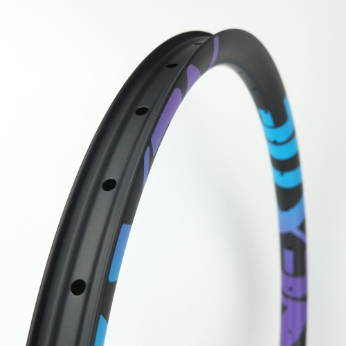 "[NXT29XM36] PREMIUM 36mm Width Carbon Fiber 29"" Mountain Bike Clincher Rim [Tubeless Compatible]"