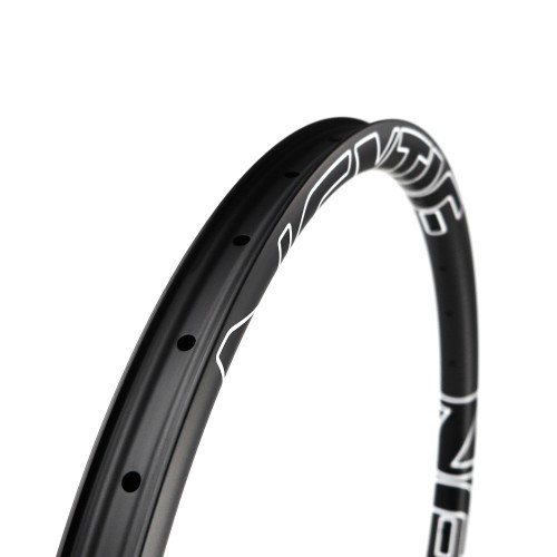 "[NXT27XM35] PREMIUM 35mm Width Carbon Fiber 27.5"" Mountain Bike Clincher Rim [Tubeless Compatible]"