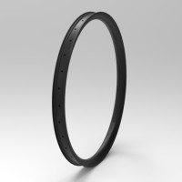 [NXT29JF52-II] [Jungle Fox II] 52mm Width Carbon Semi-Fat MTB 29+ Rim Hookless Tubeless Compatible