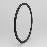 "[NXT26XC30] 30mm Width Carbon Fiber 26"" Mountain Bike Clincher Rim Tubeless Compatible"