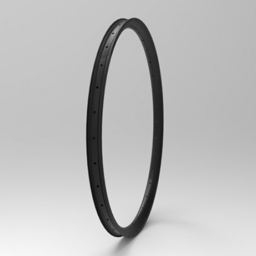 "[NXT27WC38] Asymmetric 38mm Width Carbon Fiber 27.5"" / 650B Mountain Bike Rim Clincher [Tubeless Compatible]"