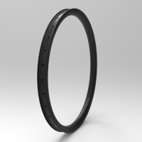 "[NXT26AM40] [All Mountain / Enduro] NEW 40mm Width Carbon Fiber 26"" MTB Clincher Rim Tubeless Compatible"