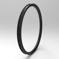 "[NXT26DH40] [Down Hill] 40mm Width Carbon Fiber 26"" MTB Clincher Rim Tubeless Compatible"