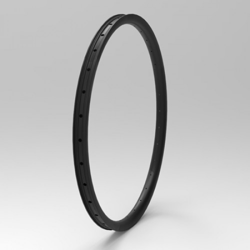 "[NXT27DH40] [Down Hill] 40mm Width Carbon Fiber 650B/27.5"" MTB Clincher Rim Tubeless Compatible"