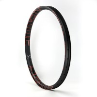 [NXT27AS41] Asymmetric 41mm Width Carbon Fiber 27.5+ 650B PLUS Mountain Bike Clincher Rim [Tubeless Compatible]