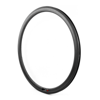 [NXT38RC23] 23mm Width Road Bike 38mm Depth 700C Carbon Rim CLINCHER [Tubeless Compatible]