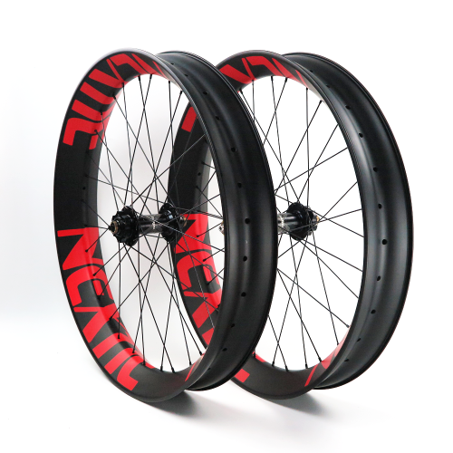 Build Your Own Carbon Fiber Fat Bike Complete Wheelset Front & Rear