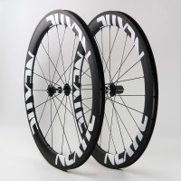 Build Your Own Carbon Fiber Road Bike Complete Wheelset Front & Rear