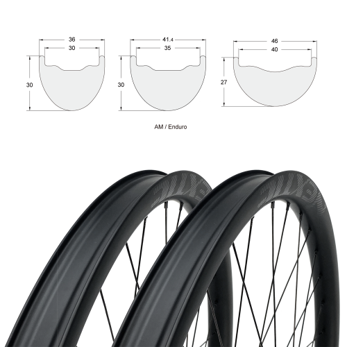 "[Tubeless Ready] AM/Enduro 29"" Premium Carbon Fiber Wheelset [Front+Rear]"
